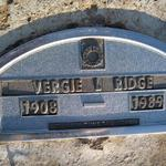 Verge Pope Ridge was the granddaughter of Edmun Winston.